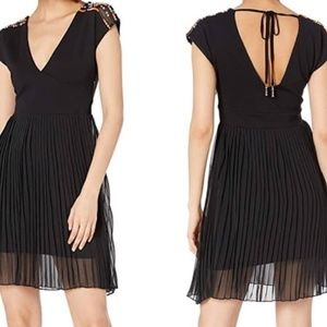 French Connection | Dumaka Beaded Jersey Dress NWT